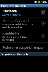 Samsung S5830i Galaxy Ace i - Bluetooth - connexion Bluetooth - Étape 8