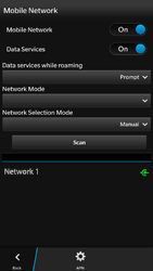 BlackBerry Z30 - Network - Usage across the border - Step 11