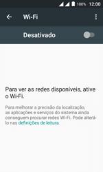Alcatel Pixi 4 - Wi-Fi - Como configurar uma rede wi fi - Etapa 5