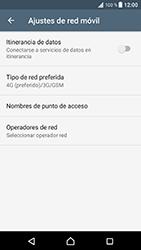 Sony Xperia XZ - Android Nougat - Red - Seleccionar el tipo de red - Paso 6