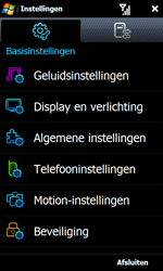 Samsung I8000 Omnia II - SMS - handmatig instellen - Stap 4