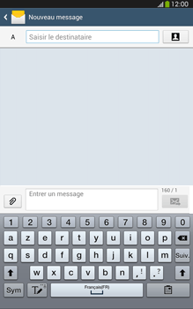 Samsung Galaxy Tab 3 8 4G - Contact, Appels, SMS/MMS - Envoyer un SMS - Étape 5