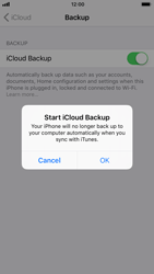 Apple iPhone 6s - iOS 11 - Device maintenance - Create a backup of your data - Step 9