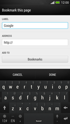 HTC One - Internet - Internet browsing - Step 7