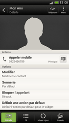 HTC One S - Contact, Appels, SMS/MMS - Ajouter un contact - Étape 13