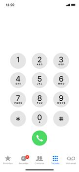 Apple iPhone iOS 12 - Chamadas - Como bloquear chamadas de um número específico - Etapa 3