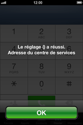 Apple iPhone 4 S - iOS 6 - SMS - configuration manuelle - Étape 7