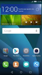 Huawei Carfi - Contact, Appels, SMS/MMS - Envoyer un SMS - Étape 1