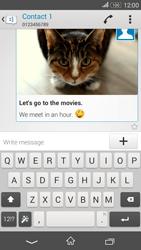 Sony E2003 Xperia E4 G - Mms - Sending a picture message - Step 17