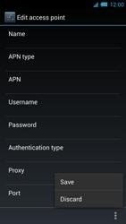 Acer Liquid S2 - Internet - Manual configuration - Step 16