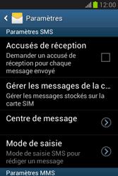 Samsung S6790 Galaxy Fame Lite - SMS - configuration manuelle - Étape 8