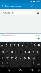 HTC One M8s - MMS - envoi d'images - Étape 8