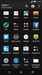 HTC One M8s - Wifi - configuration manuelle - Étape 2