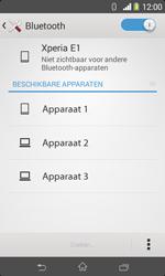 Sony Xperia E1 (D2005) - Bluetooth - Aanzetten - Stap 5