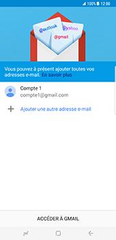 Samsung Galaxy S8 Plus - E-mail - Configuration manuelle (gmail) - Étape 15
