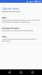 Sony Xperia X Dual SIM (F5122) - Email - Configurar a conta de Email -  11