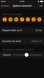 Apple iPhone SE - iOS 10 - iOS features - Coucher - Étape 13