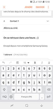 Samsung Galaxy A8 (2018) - E-mail - envoyer un e-mail - Étape 18