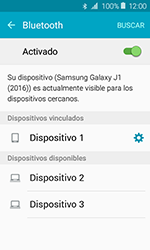 Samsung Galaxy J1 (2016) (J120) - Bluetooth - Conectar dispositivos a través de Bluetooth - Paso 8