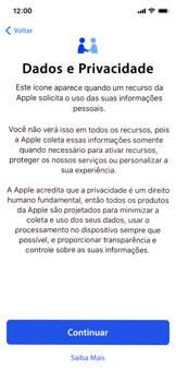 Apple iPhone XR - Primeiros passos - Como ativar seu aparelho - Etapa 9