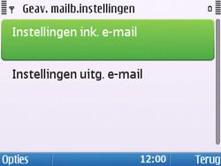Nokia E5-00 - E-mail - handmatig instellen - Stap 22