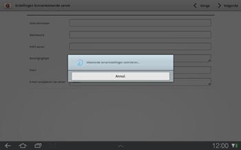 Samsung P7500 Galaxy Tab 10-1 - E-mail - e-mail instellen: IMAP (aanbevolen) - Stap 9