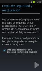 Samsung Galaxy S3 Mini - E-mail - Configurar Gmail - Paso 13