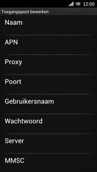 Sony Ericsson Xperia Arc met OS 4 ICS - Internet - Handmatig instellen - Stap 10