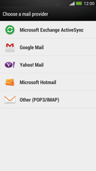 HTC One - E-mail - Manual configuration - Step 6