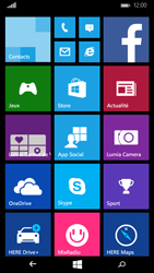 Microsoft Lumia 535 - Internet - configuration automatique - Étape 1