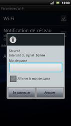 Sony Ericsson Xperia Neo - Wifi - configuration manuelle - Étape 7