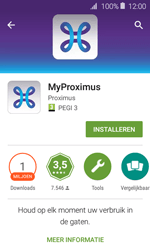 Samsung Galaxy J1 - Applicaties - MyProximus - Stap 9