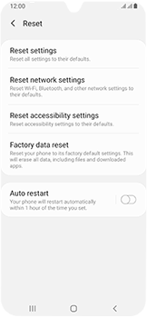 Samsung Galaxy A40 - Device - Factory reset - Step 7
