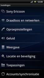 Sony Ericsson Xperia Neo V - Voicemail - handmatig instellen - Stap 4