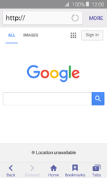 Samsung Galaxy J1 - Internet - Internet browsing - Step 5