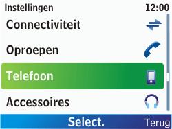 Nokia C3-00 - Netwerk - gebruik in het buitenland - Stap 7