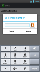 LG P875 Optimus F5 - Voicemail - Manual configuration - Step 8