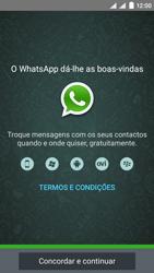 NOS SLIM - Aplicações - Como configurar o WhatsApp -  8