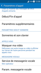 Samsung G530FZ Galaxy Grand Prime - Messagerie vocale - configuration manuelle - Étape 6
