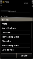 Nokia E7-00 - MMS - envoi d'images - Étape 8