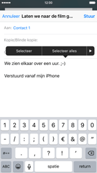Apple iPhone 6 iOS 9 - E-mail - Bericht met attachment versturen - Stap 9