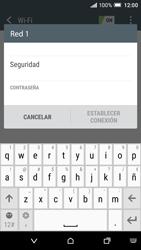 HTC One A9 - WiFi - Conectarse a una red WiFi - Paso 7