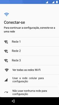 Motorola Moto Z2 Play - Primeiros passos - Como ativar seu aparelho - Etapa 9
