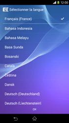 Sony Xpéria M2 - Premiers pas - Créer un compte - Étape 2