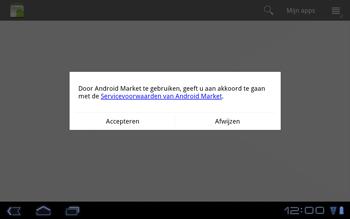 Huawei Mediapad S7-301u - Applicaties - Applicaties downloaden - Stap 14