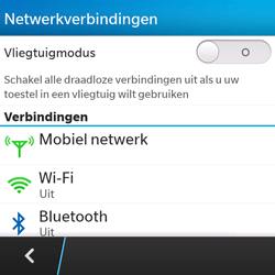 BlackBerry Q5 - Buitenland - Bellen, sms en internet - Stap 6