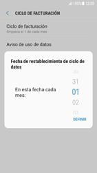 Samsung Galaxy S7 - Android Nougat - Internet - Ver uso de datos - Paso 8