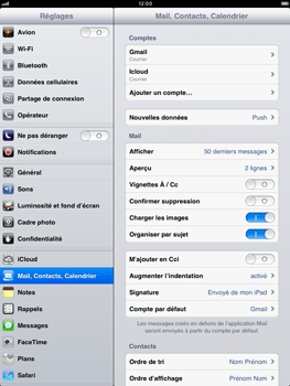 Apple iPad mini - E-mail - Configuration manuelle - Étape 14
