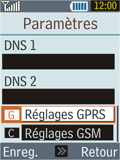 Samsung B2100 Xplorer - Mms - Configuration manuelle - Étape 12