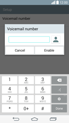 LG D855 G3 - Voicemail - Manual configuration - Step 8